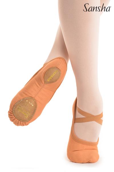Sansha demi-pointes chaussons danse classique CAMBRE 41C