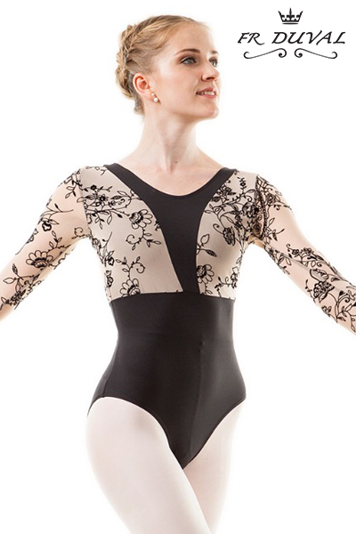 F.R. Duval Long Sleeve Leotard DAADIL 50AI0006P