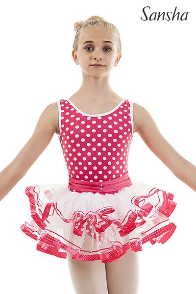 Sansha Youth Tank Tutu Dress BLISSY 68AH0006N
