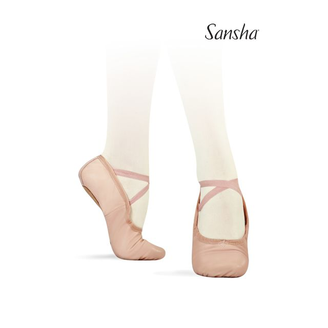 Sansha demi-pointes Original bi-semelle cuir PRO1L 1L