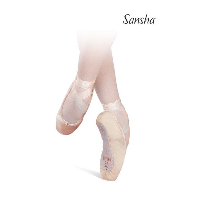 Sansha pointes Universal platform RECITAL 202CP