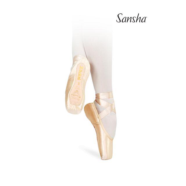 Sansha pointes de ballet universelles RECITAL II 202-2SP