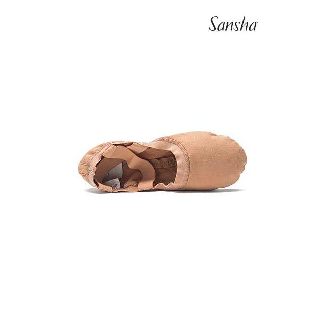 Sansha demi-pointes chaussons danse classique HYPER-FLEX 312C