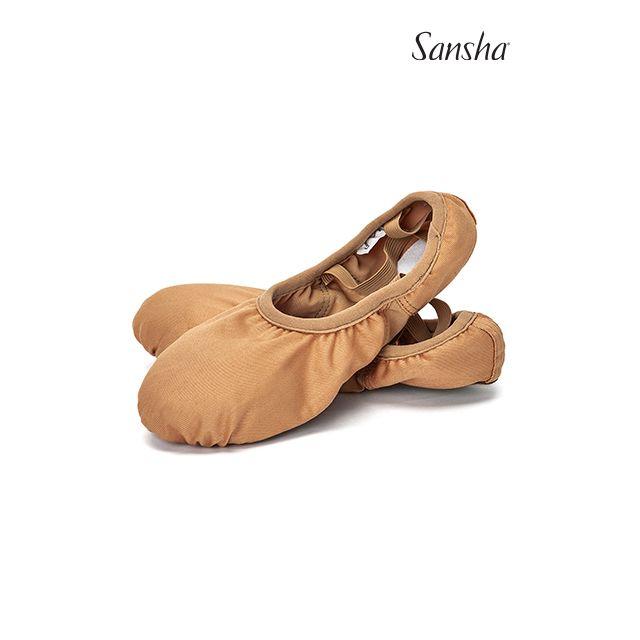 Sansha demi-pointes toile STREEETCHIE 333E