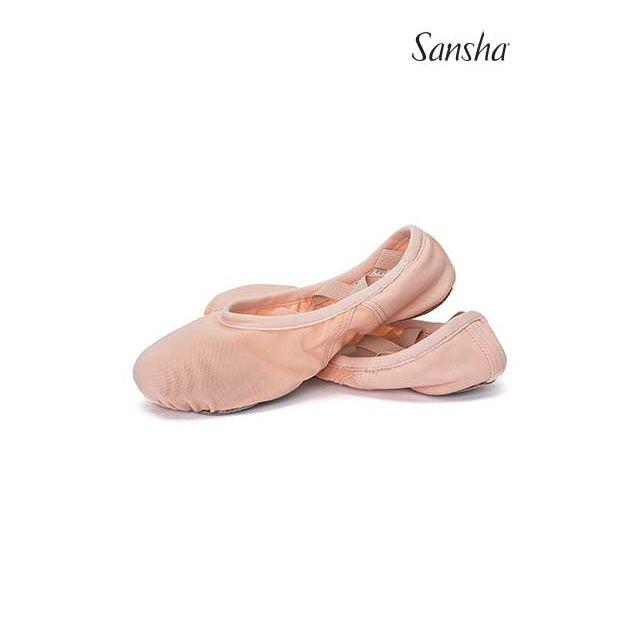 Sansha demi-pointes légeres en résille stretch HAVANA 357X