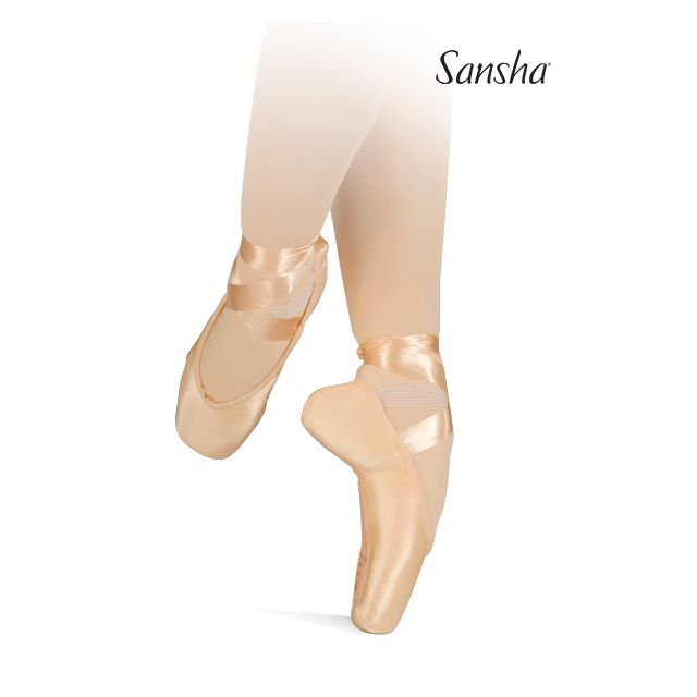 Sansha pointes V-vamp high-sides LYRICA 404SP