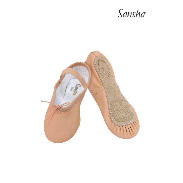Sansha demi-pointes chaussons danse cuir TUTU 4L