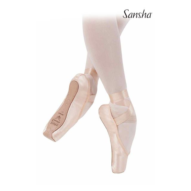 Sansha Pointes Square wide box CADENZA 507S