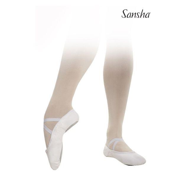Sansha demi-pointes chaussons Lycra souples FINESSE 51C
