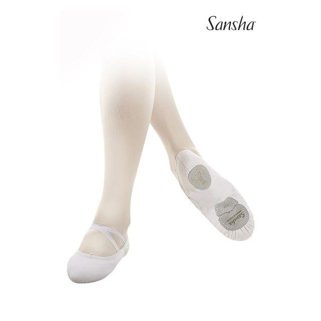 Sansha demi-pointes chaussons danse classique toile LeBallet 52C