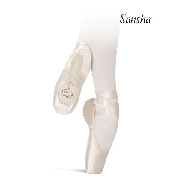 Sansha pointes 3/4 souples GLORIA 601S