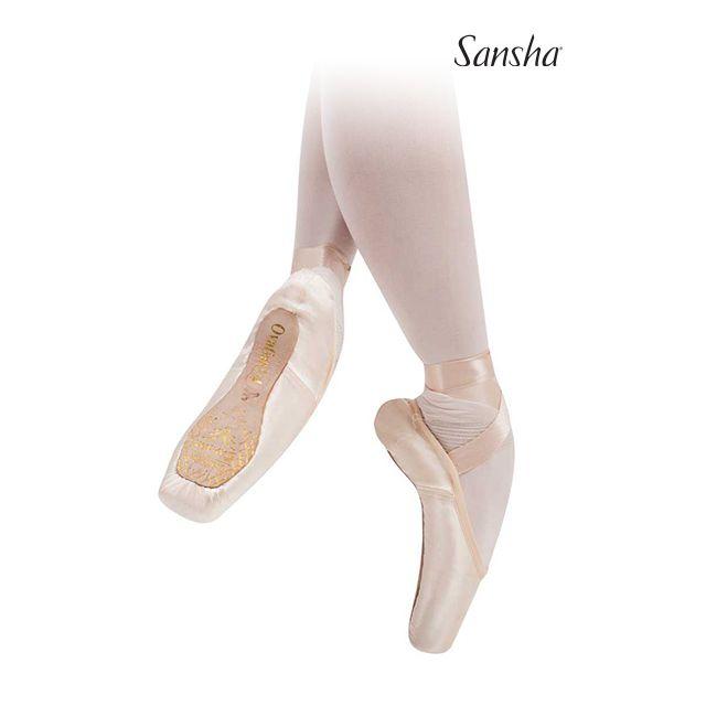 Sansha pointes 3/4 cambrion moyen OVATION 606S