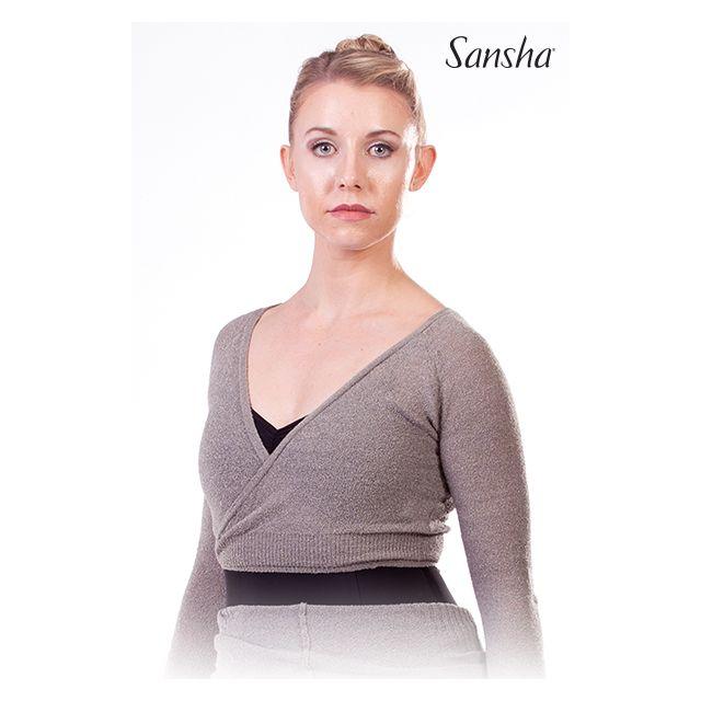 Sansha Knit Warm-Up Sweater Top NEDA 80AH0010A