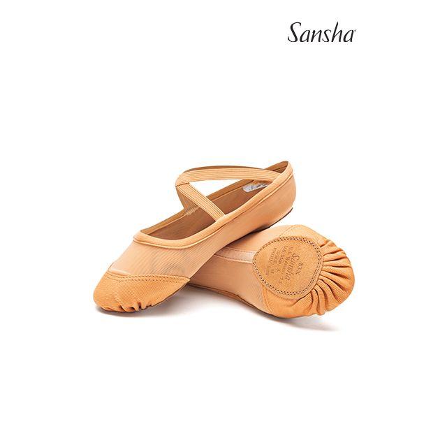 Sansha demi-pointes chaussons danse moderne résille PRO-FIT 83X