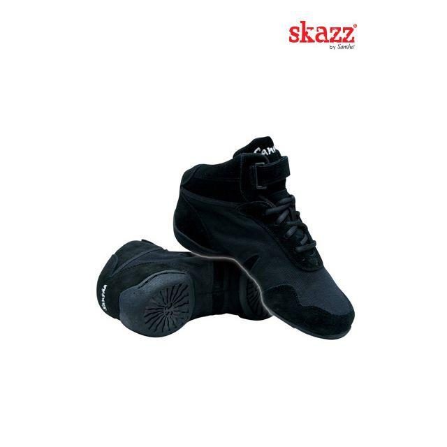Sansha Skazz baskets-sneakers bi-semelle cuir BOOMELIGHT B963C