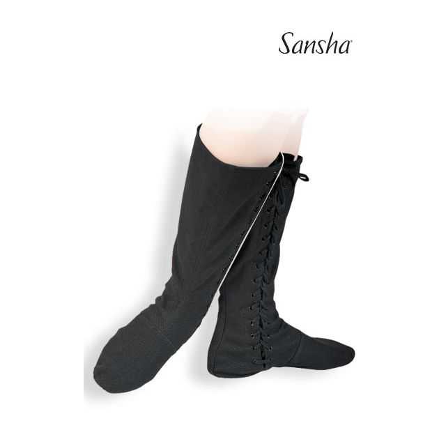 Sansha bottes de scène+ballet toile RUDIK BB2C