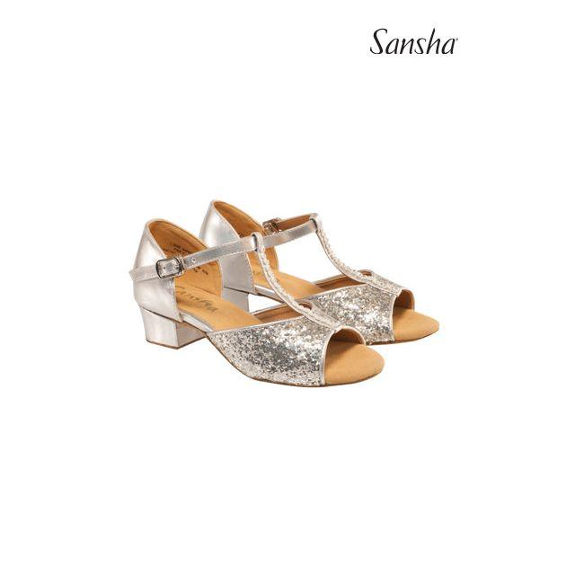 Sansha chaussures danse salon enfant ANA BK10048PU