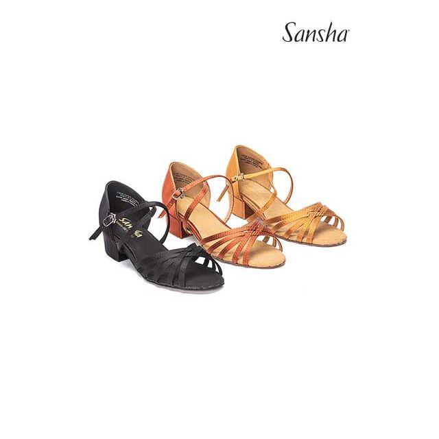 Sansha chaussures danse salon enfant JAZMIN BK13061S