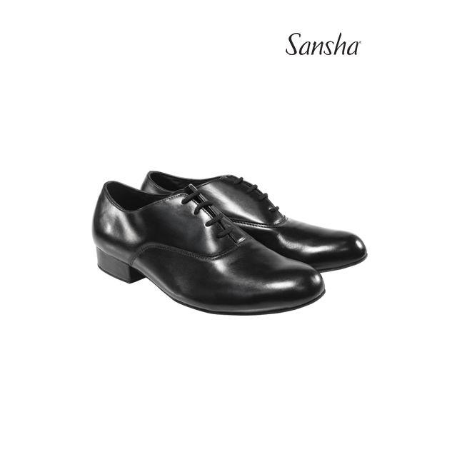Sansha chaussures hommes danse de salon cuir FELIPE BM10083L