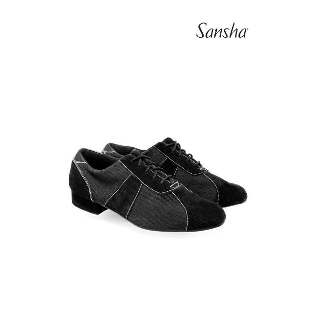 Sansha chaussures hommes danse de salon SILVANO BM10095C