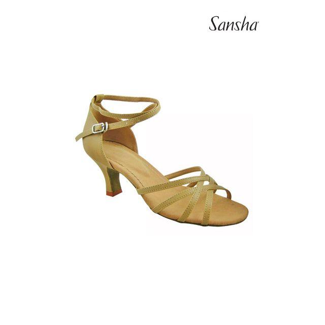 Sansha chaussures danse de salon et latine BONITA BR23020PU
