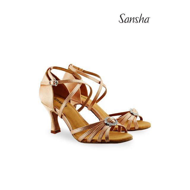 Sansha chaussures danse de salon et latine BARBARA BR31038S