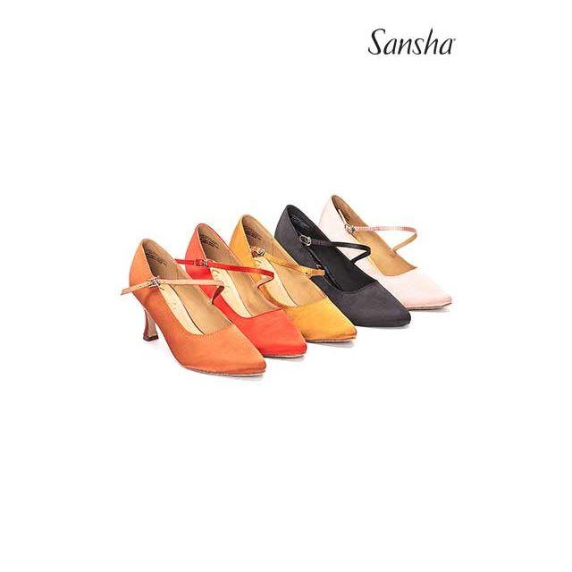 Sansha chaussures danse de salon et latine MIREYA BR30068S