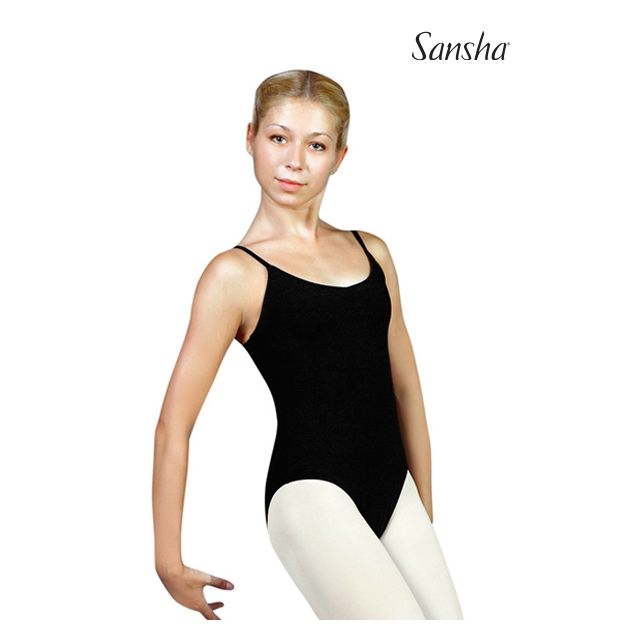 Sansha tunique justaucorps fines bretelles YASMINA C238C