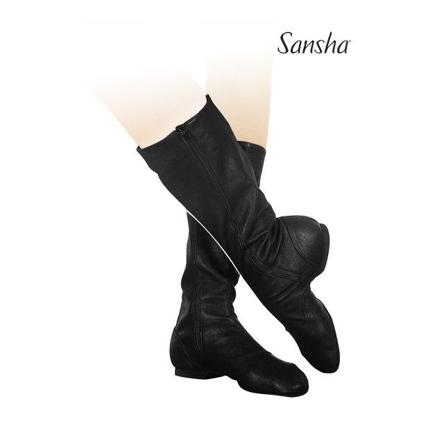Sansha bottes de caractère cuir DON FRANCO CB1L
