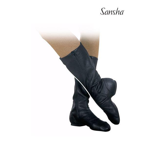 Sansha bottes de caractère toile DON FRANCO CB2C