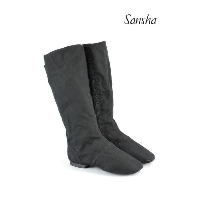 Sansha bottes de caractère toile DON DUVAL CB6C