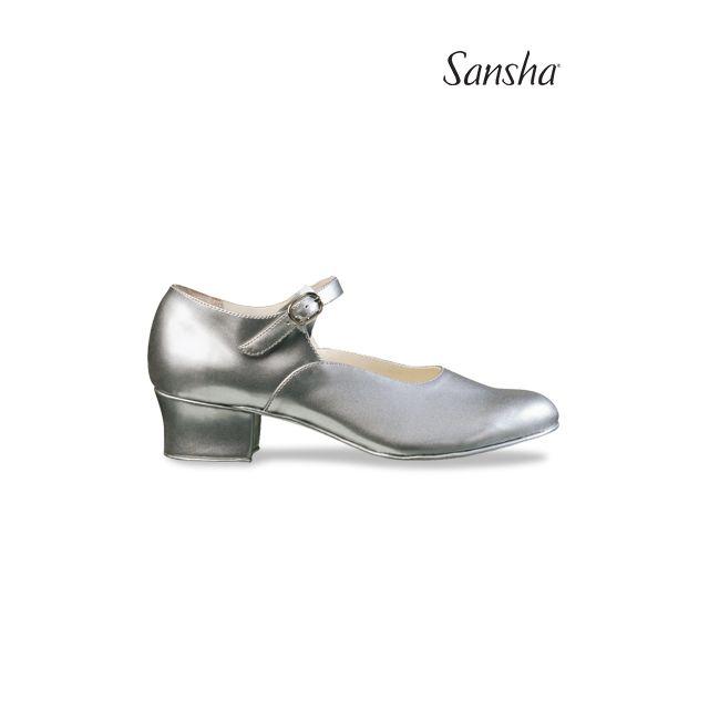 Sansha chaussures danse de caractère toile PRAGA CL10PA