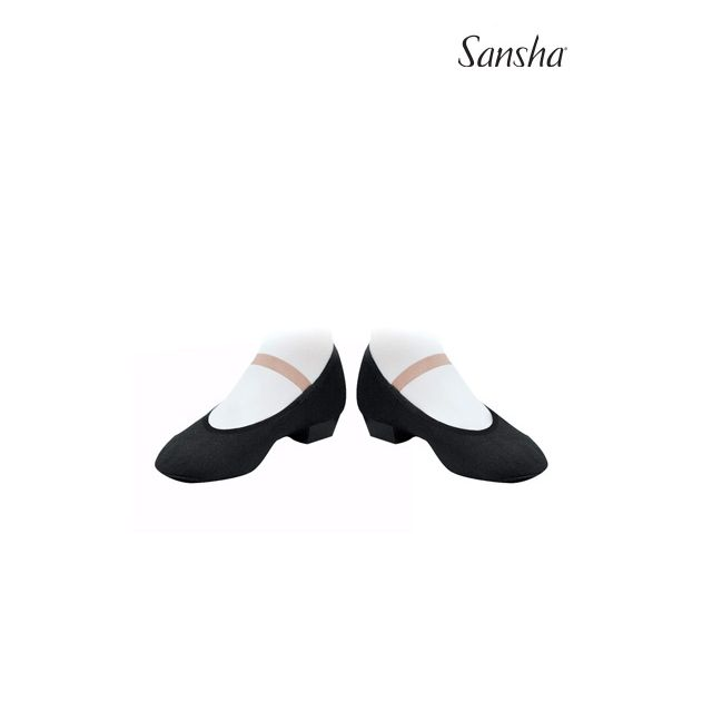 Sansha chaussures de caractère toile MAZURKA CS1C