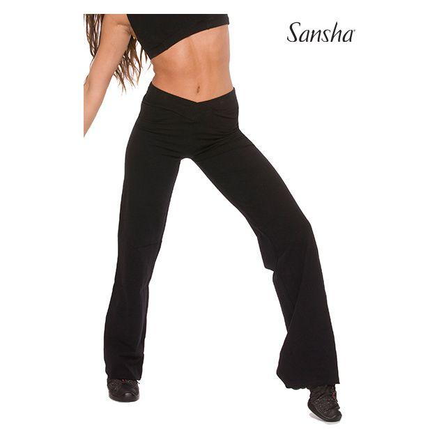Sansha pantalon jazz évasé coton PRESTON D014C