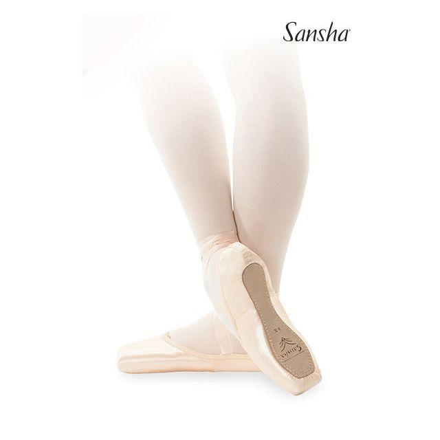 Sansha pointes extra-souples véganes CLARA D100SP
