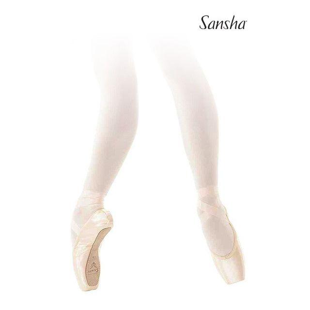 Sansha pointes de danse classique véganes PAOLA D108SP