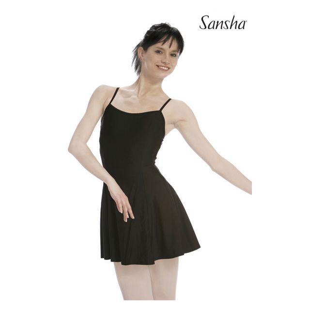 Sansha Robe justaucorps de scène ARABELLE D1701N