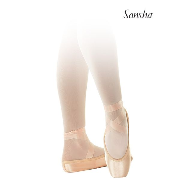 Sansha pointes véganes NATALIA D507SP