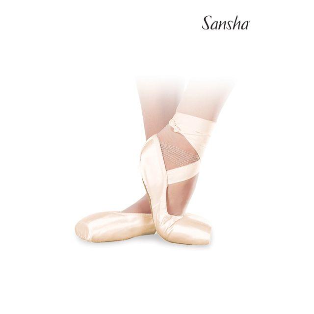 Sansha pointes souples sans cambrion AMERICAN DP801SP