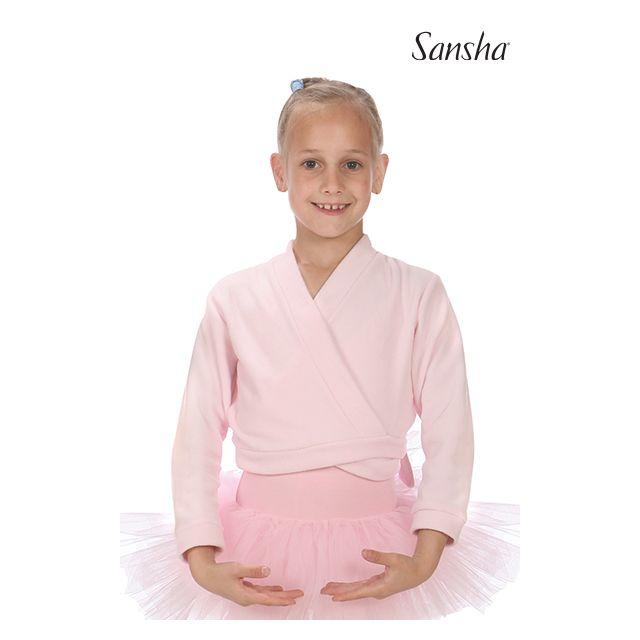 Sansha Cache coeur enfant laine polaire LUCY G01F