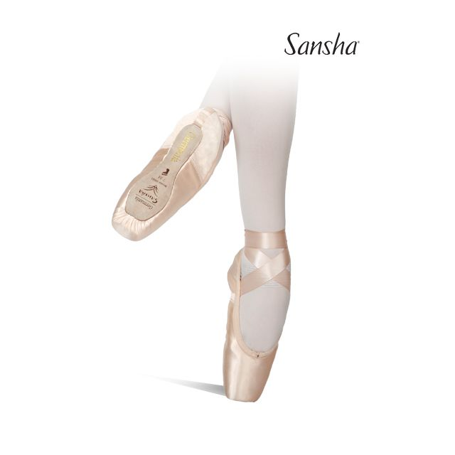 Sansha pointes cambrion souple 3/4 GERMAN 1 G01S