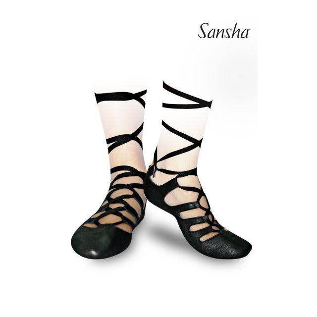 Sansha chaussures danse ecossaise irlandaiseGHILLIES 4 GH4L