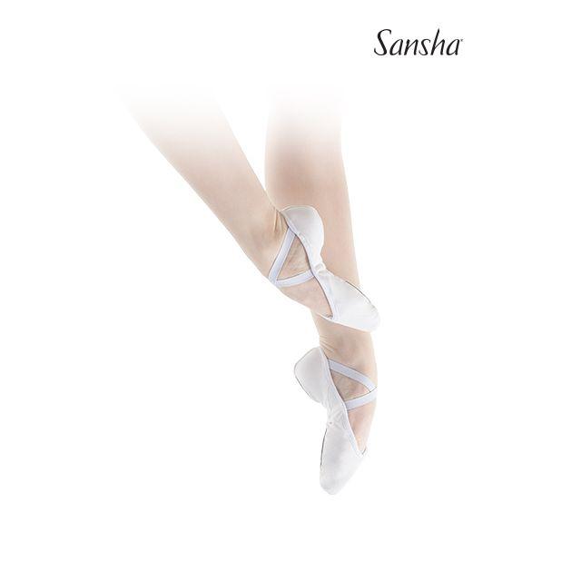 Sansha demi-pointes chaussons danse classique toile GLOVE G1C
