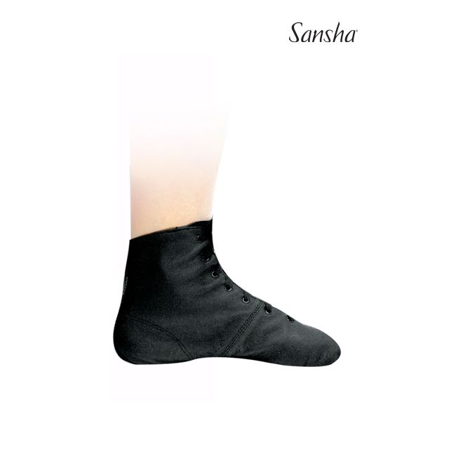 Sansha bottines de jazz cuir MANEGE JB11L