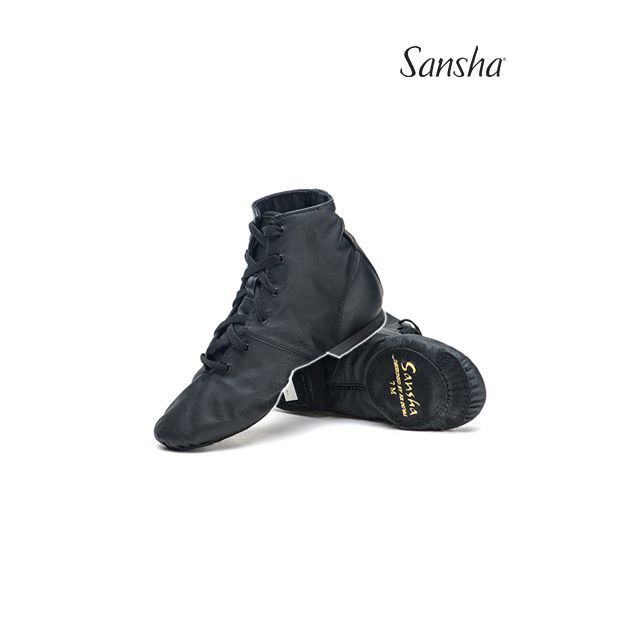Sansha bottines de jazz cuir SOHO JB1L