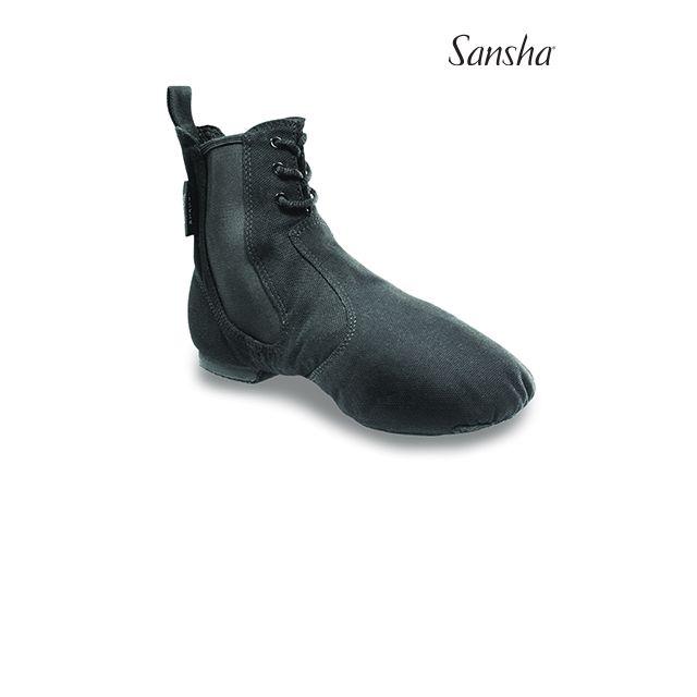 Sansha bottines de jazz toile SO-LI JB91C
