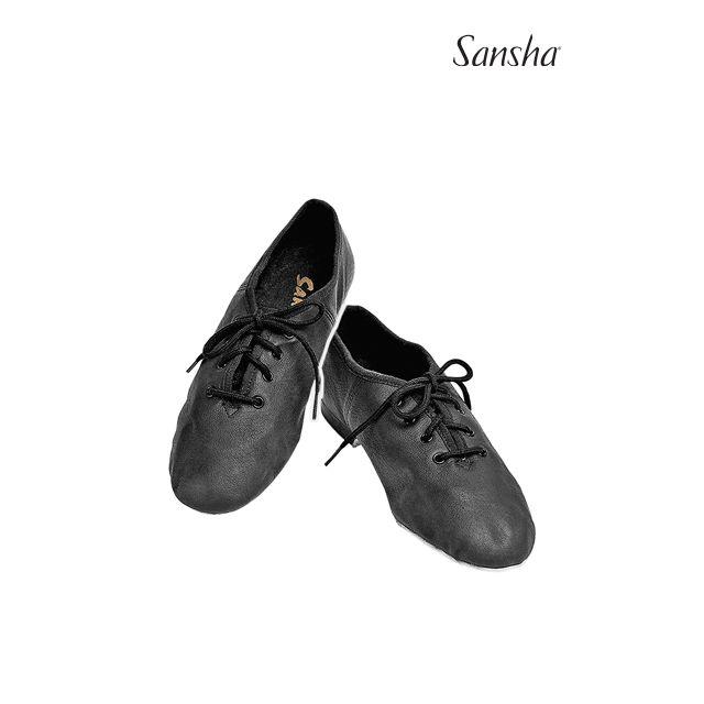 Sansha chaussures de jazz cuir CARROUSEL JS16L