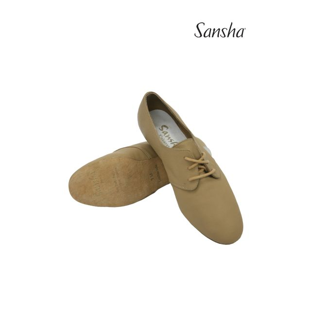 Sansha chaussures de jazz cuir CABARET JS41L