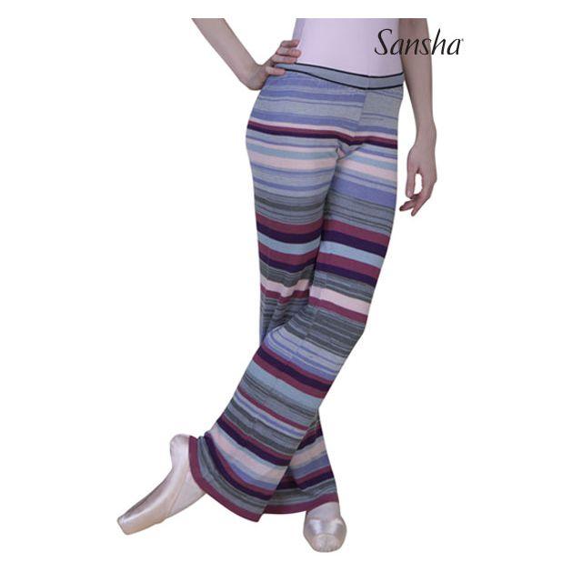 Sansha Multicolor pantalon large de jazz FINNETTE KC0101A