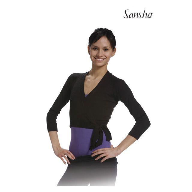 Sansha Cache coeur à manches longues KCT5CH